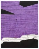 Terri Fridkin -Anse des Cayes 2 -intaglio, monotype, chine colle